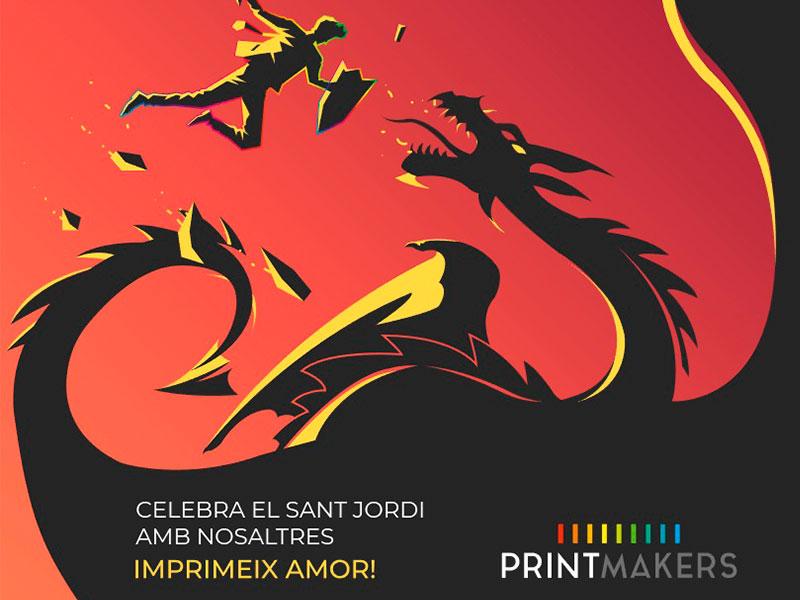 celebra-sant-jordi-con-printmakers