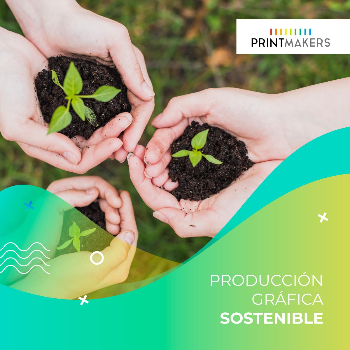 Imprenta ecológica, producción gráfica sostenible